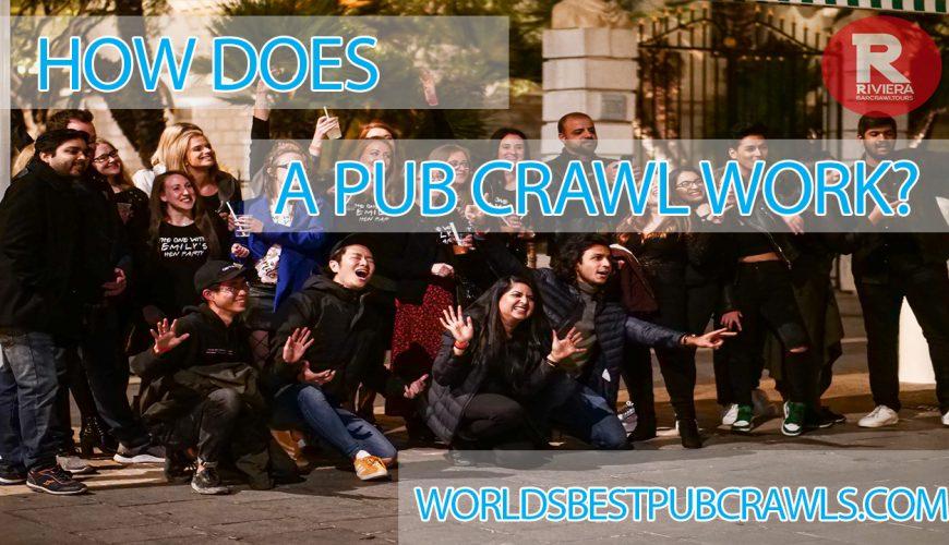 how does a pub crawl work