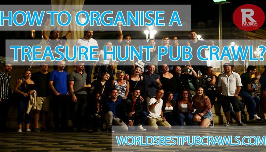 how to organise a treasure hunt pub crawl