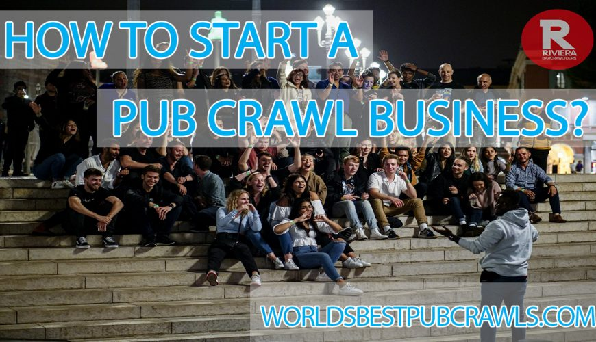 how to start a pub crawl business