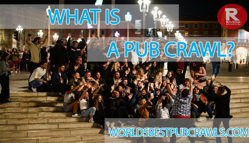 what is a pub crawl