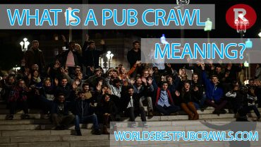 what is a pub crawl meaning