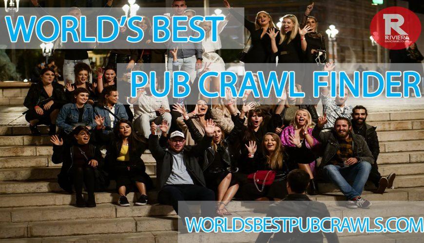 worlds best pub crawl finder